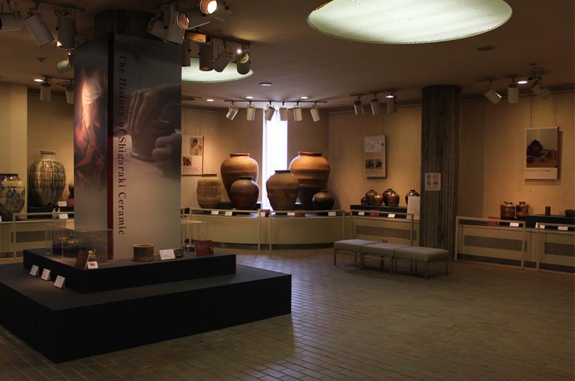 信楽伝統産業会館常設展